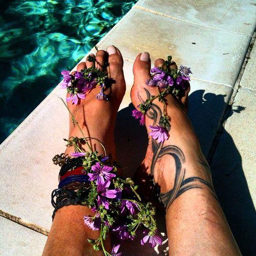 Joyeuse Saint-Valentin Barefoot Lifestyle Relaxing Inner Peace Freedom Saint-valentin