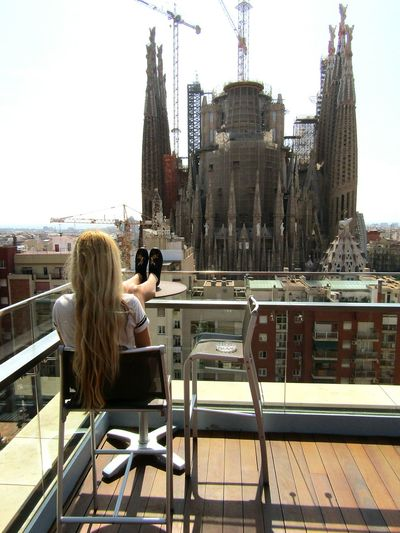 Relaxing Taking Photos That's Me Sitting Outside Beautifulview Calming Views Sagradafamilia Sagradafamiliabarcelona SagradadeFamilia Ayre Hotel Hungariangirl From My Point Of View Buildingphotography Architecturephotography Cityview Building And Sky SPAIN Barcelona Eyeemcollection Eye4photography  A Bird's Eye View Otherside Women Who Inspire You People And Places My Favorite Place The Architect - 2017 EyeEm Awards Lost In The Landscape Been There. Done That. EyeEmNewHere Summer Exploratorium