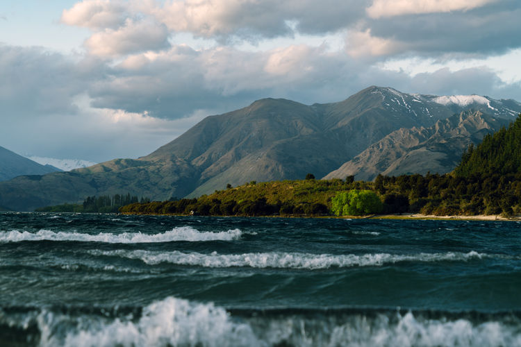 Beauty In Nature Cultures Day EyeEm Best Shots EyeEm Nature Lover Lake Lake Wanaka Landscape Mountain Nature No People Outdoors Tree Water