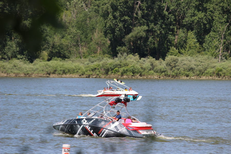 to race or ski Boating Wake Boarding Beauty In Nature Boats Day Mode Of Transport Nature Nautical Vessel Outdoors Transportation Water Watersports