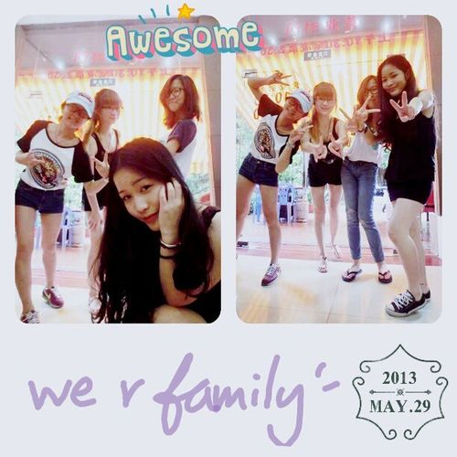 we r family!!!all my bitch!! i love ya!!!!!!!! 小鸡巴们 我永远爱你们!!! Bestclosefrd Liibithch Beautifulgirl Lovelyfriendship fantasticmoment niceshot