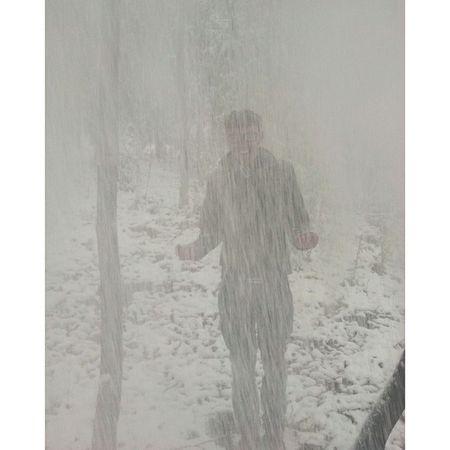 没见过暴雪的小伙伴,我只能人工帮他造雪了。??? 岳麓山 长沙 Snow VSCO vscocam changsha china