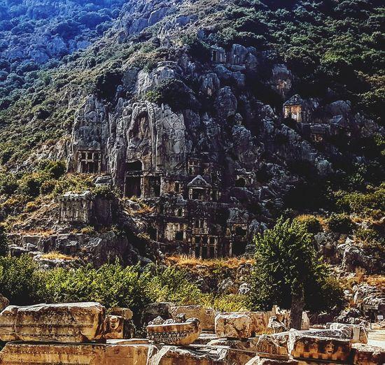 Myra - mystic place Rock Cut Tomb Historic Civilization