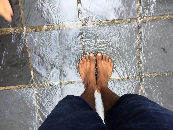 +Ve vibe, Temple Dharamshala Pure Water Waterfall Devine First Eyeem Photo