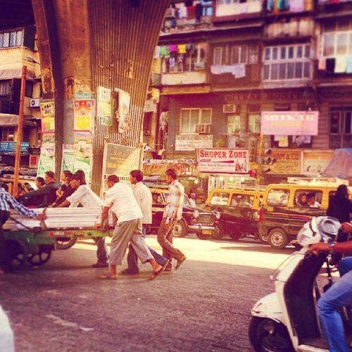 City of Brownian Motion Bombay Mumbai