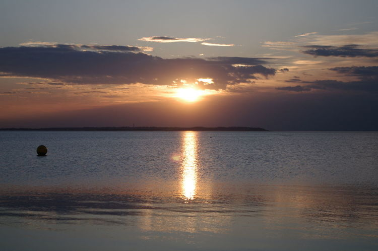 Beach Beauty In Nature Cloud - Sky Day Horizon Over Water Idyllic Nature No People Outdoors Reflection Scenics Sea Sky Sun Sunlight Sunset Tranquil Scene Tranquility Travel Destinations Water Waterfront