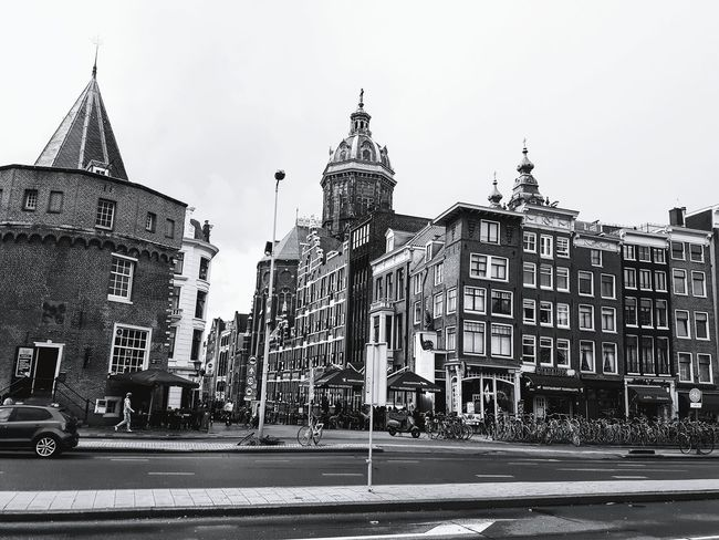 Amsterdam view Tourist Destination History Museum Hostorical Place Holiday Hobby Summer Travel Destinations Historical Place Blackandwhite Black And White City Politics And Government Modern Sky Architecture Building Exterior Built Structure Travel Tall - High Tower Cityscape Skyline Settlement Urban Skyline Crowded #urbanana: The Urban Playground