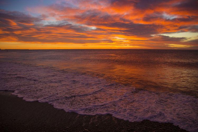 Amanecer Chubut Cloud Coulor Of Life Argentina Canon Cold Temperature Comodoro Rivadavia Chubut Landscape Mar Patagonia Sea Sunset Sunshine