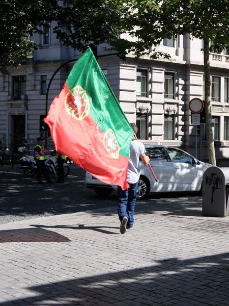 Euro 2016 Football Green & Red Porto Portugal