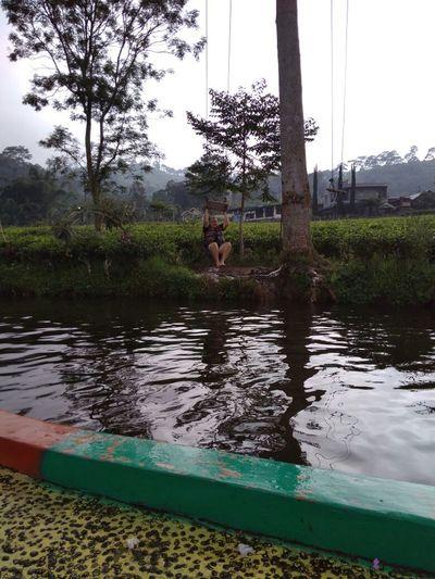 kalo Pucang river Tree Full Length Wet Lake Sky