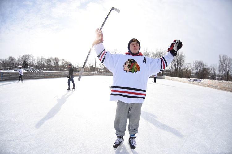 For the love of hockey Enjoying Life Sports Hockey Sports Photography Snow Sports