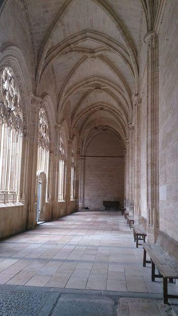 El Claustro de la Catedral De Segovia