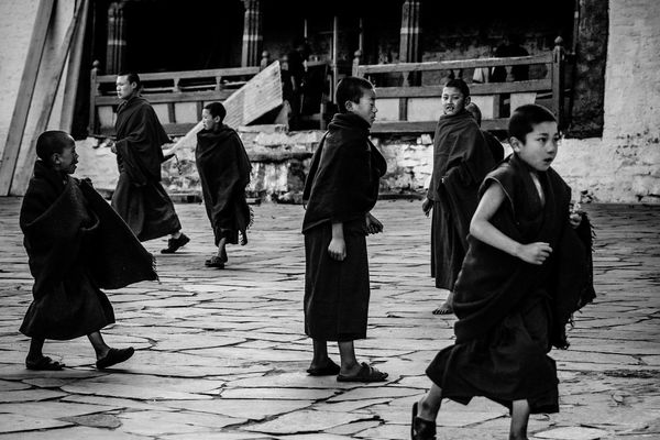 interval time EyeEm Selects Cheerful People Monastery Arunachal Pradesh Monks Monk  Kids Uniform Blackandwhite Black And White Bnw Streetphotography Street Photography Streetphoto_bw Full Length Warm Clothing Well-dressed Winter Walking Traditional Dancing Festival Traditional Ceremony Holy Week Moments Of Happiness