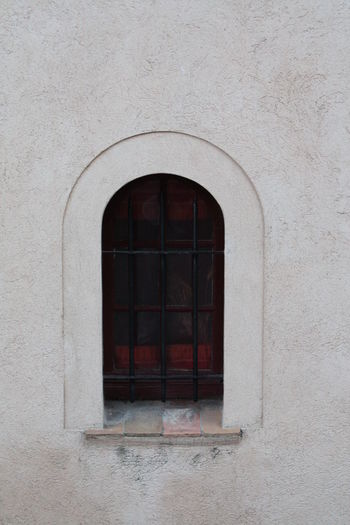 Close-Up Of Arch Window