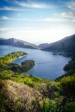 Azoren Azores Beauty In Nature Eye4photography  EyeEm Best Shots EyeEm Best Shots - Nature EyeEm Gallery EyeEm Nature Lover EyeEmBestPics Lagoa Do Fogo Lake Landscape Sao Miguel- Azores Scenics Sky Water The Secret Spaces The Great Outdoors - 2017 EyeEm Awards Lost In The Landscape