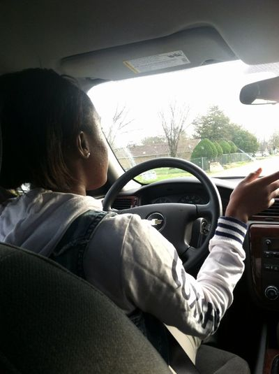 Me driving !