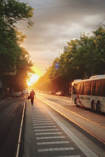 Helsinki Alppila HDR Streetphotography Sunset Summer