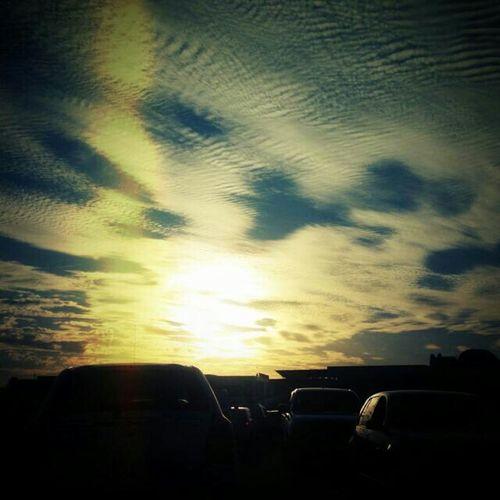 Sunset Silhouettes Sunday Vibes