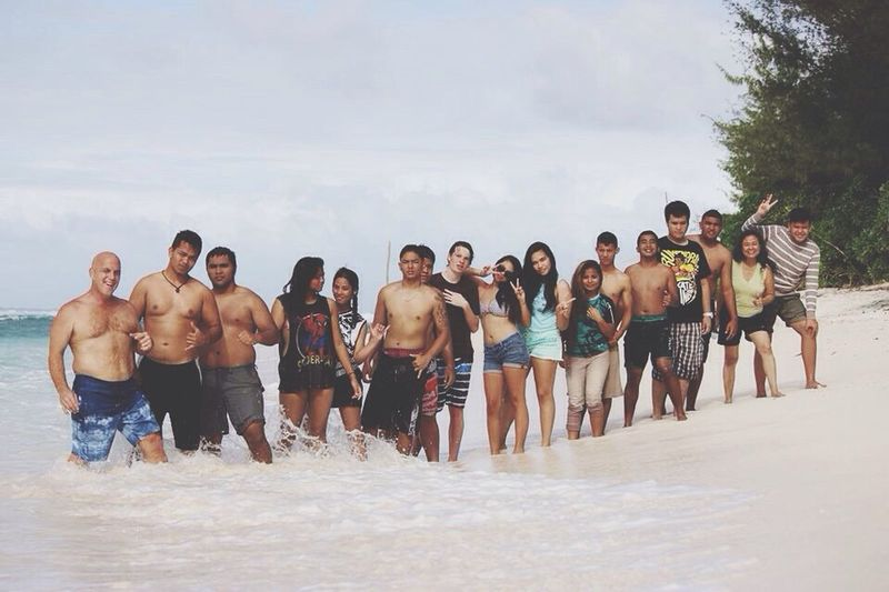 Beach Guamlife Traveling In Guam Life Swimming Friends