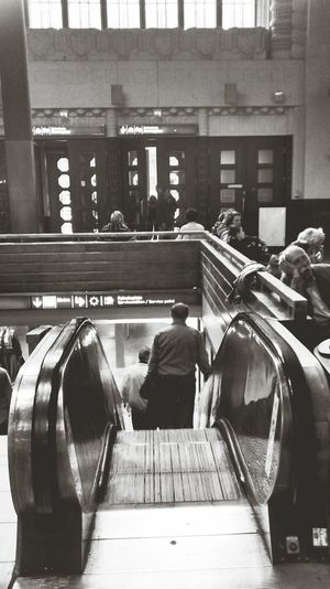 Elevator Train Station Sleeping Helsinki Finns