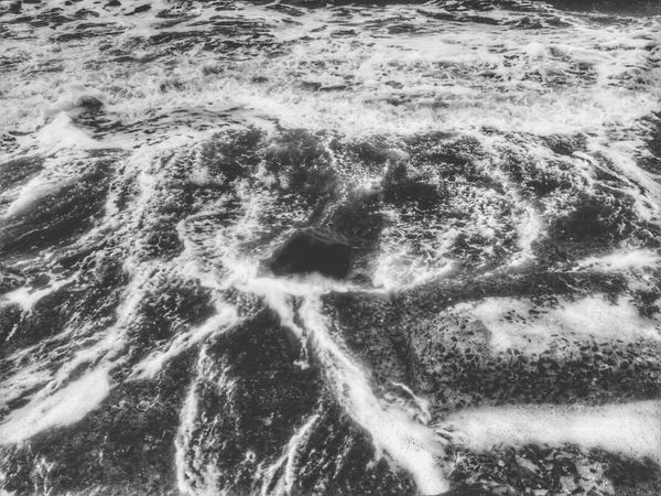 High Angle View Water Nature No People Day Full Frame Outdoors Backgrounds Sea Beauty In Nature India 3XSPUnity Sea Beach Pattern Rough Bay Of Bengal Digha EyeEmNewHere Sea Water Black & White Black And White Photography