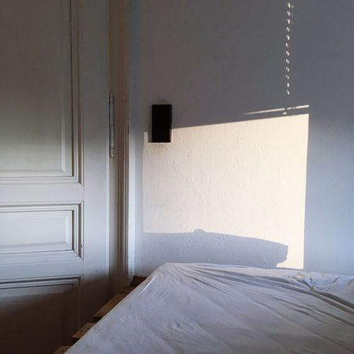 White door at home