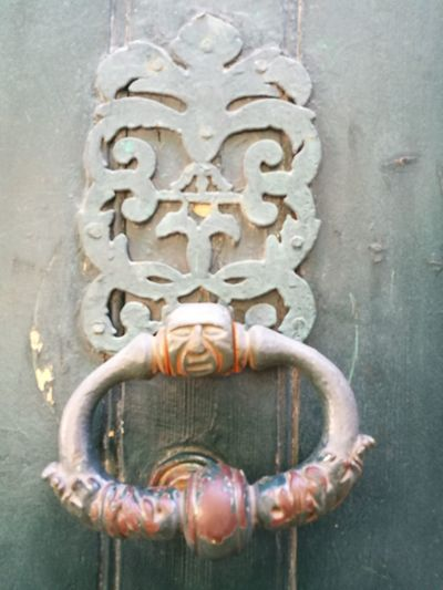 Door Knocker Outdoors Door Metal No People Day France🇫🇷