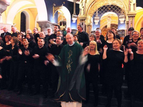 Gospel Choir Sligo Cathedral Singing Mass