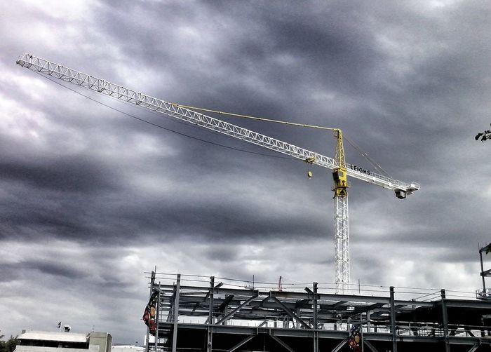 a rebuild crane