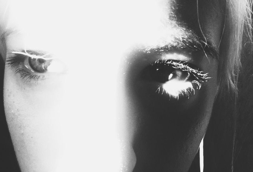 Eyes Selfportrait The New Self-Portrait Monochrome Blackandwhite Light And Shadow Darkness And Light