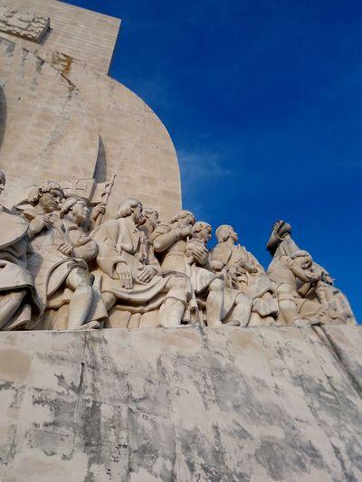 Discovery Monument Tagus River Lisboa Portugal Lisbon Portugal Tejo Padrão Dos Descobrimentos