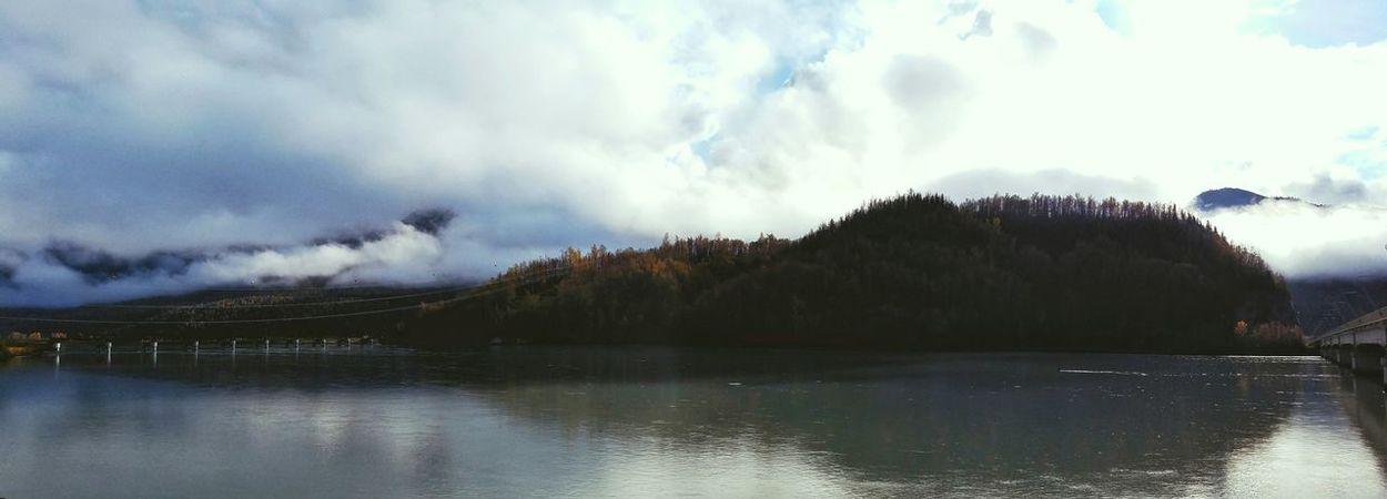 Alaska Landscape Cloud - Sky Water Nature Outdoors River Trees