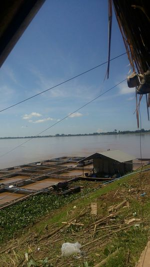 Border Between Thailand and laos The mekong makes the border Thailand River Mekong River