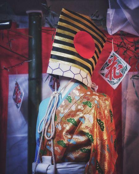 Sanbaso (三番叟) Costume Autumn Colors NiwaMise ♯3-2 Nishifurukawa machi Nagasaki Kunchi Festival 和華蘭(Nagasaki Culture) 50mm 1.4