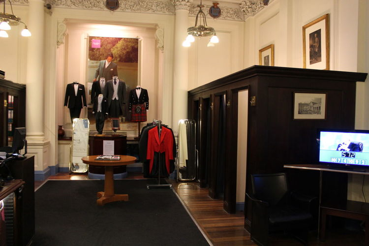 Moss Bros London Blacktie Regent Street  the best place to rent a blacktie dress in London