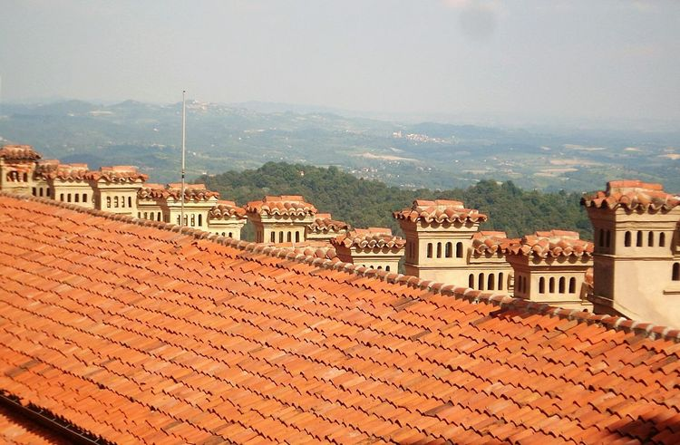 LINE Home Panoramic Red Colors Religious Architecture Religious Architectural Outdoors Loveitaly Panoramic Beauty  Montagne
