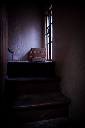 Mexico Stairs Wood Abandoned Architecture Geometry Huacales Indoors  No People Shadow Staircase Stairs Geometry Steps Window Wood - Material