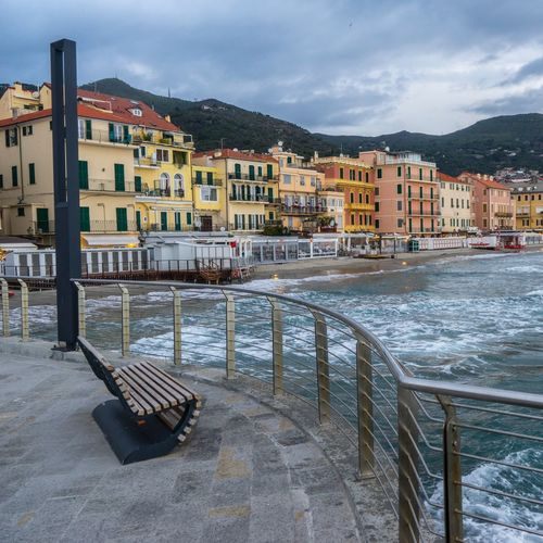 Alassio , maggio 2019 Architecture Building Exterior Built Structure City Building Sky Water Cloud - Sky Residential District Nature Nautical Vessel Town Cityscape Travel Destinations Sea Mountain Transportation House No People Outdoors