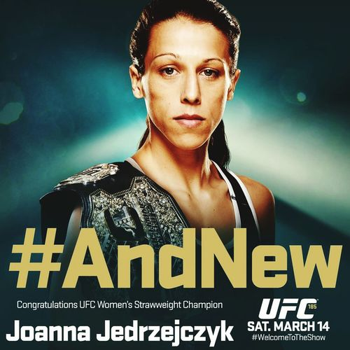 UFC 185! And New Champion! Joanna! UFC185 And New MMA UFC Welcome To The Show