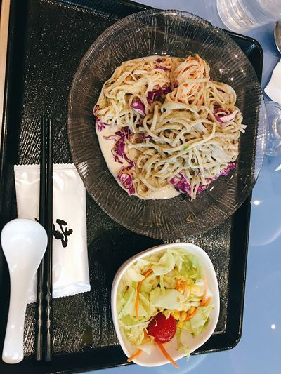 Food Food Food And Drink Indoors  Ready-to-eat Directly Above Chopsticks Serving Size Freshness Noodles Healthy Eating Cultures Japanese