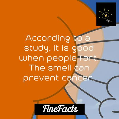 Study Cancer Fart Smell Fact Facts