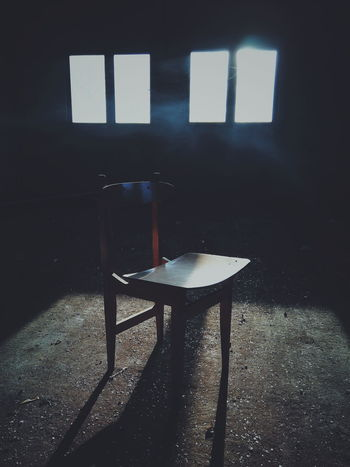 Window Chair Table Room Artist's Canvas Shadow Daylight