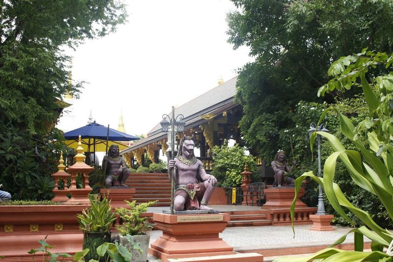 Statue Sculpture Art And Craft Human Representation Lampang | Thailand