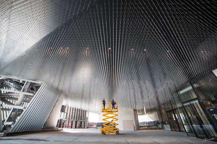 Museumweek Architecture Architecturemw Philharmonie changer les ampoules