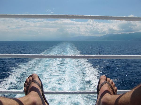 Barefoot Close-up Day Horizon Over Water Human Foot Human Leg Lifestyles Men Nature One Person Outdoors People Personal Perspective Real People Scenics Sea Sky Sunlight Water