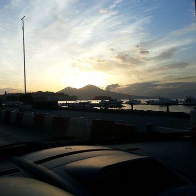 Sunrise Napoli Naples Alba Happy Morning Breakfast Sun Nofiltri