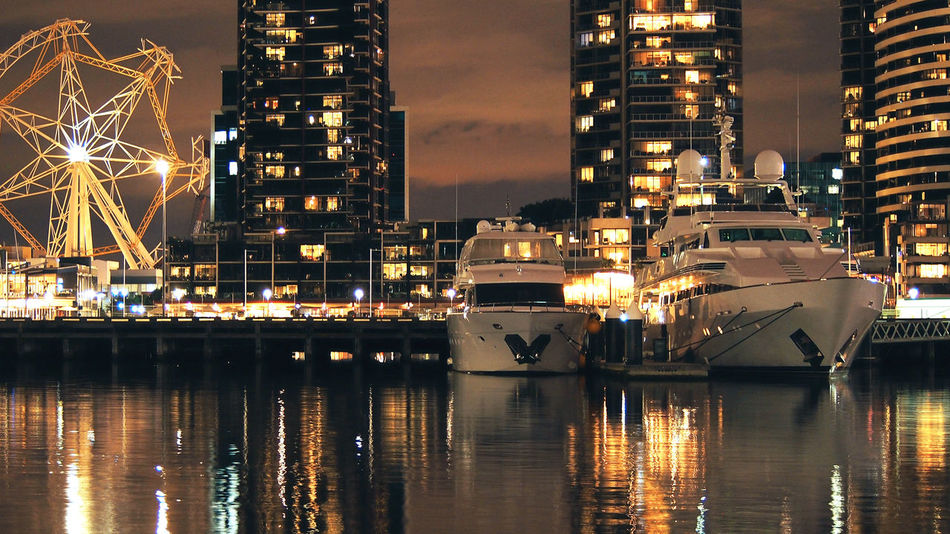 Melbourne Night Photography Australia Docklands,Melbourne Ferris Wheel Ferris Wheel At Night Lights Melbourne City Night Lights Night Photography River View Travel Travel Photography Travelling Wanderlust Adventure Architecture Australia & Travel Building Exterior Built Structure City Cityscape Docklands Harbor Illuminated Melbourne Melbourne By Night Nature Nautical Vessel Night No People Outdoors Photography Reflection Sky Transportation Travel Destinations Water Waterfront Yarra River
