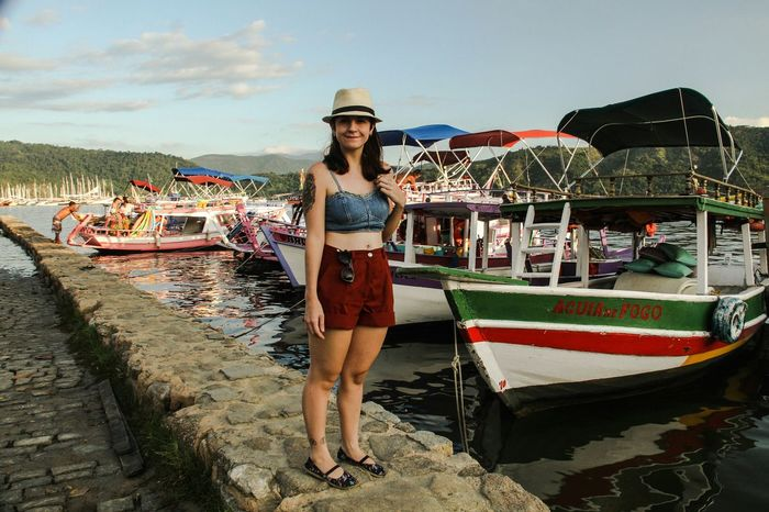 Colorful Paraty Sea Haven Starting A Trip Girlfriend Tattoo Girls With Tattoos Ships Deck