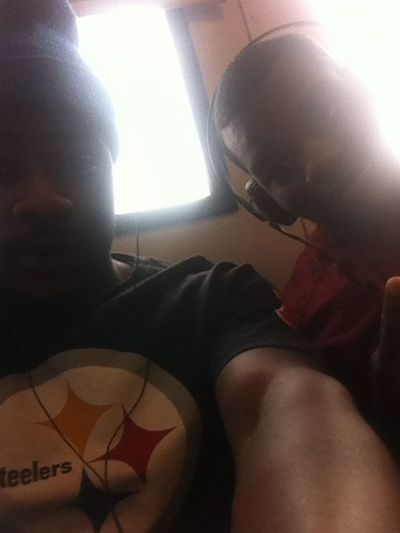 Chillin w/ my brother