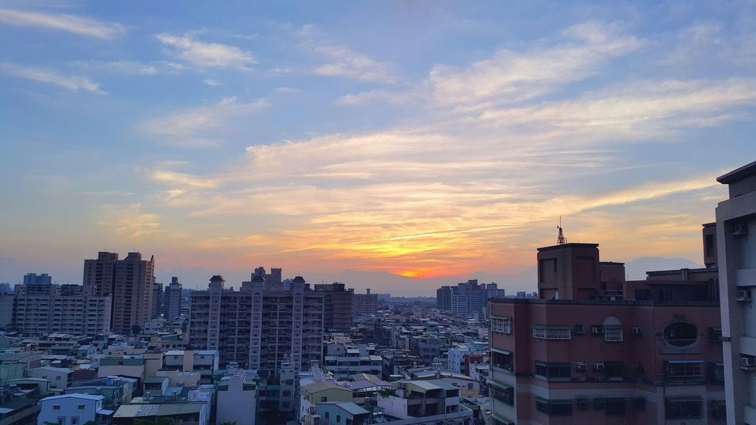 靦 腆 The View And The Spirit Of Taiwan 台灣景 台灣情 EyeEm Best Shots - Sunsets + Sunrise Cloudsandsky Blue Sky Beautiful ♥ Sunrise_sunsets_aroundworld Viweoutofmywindow First Eyeem Photo Skyviewers Eyemphotography